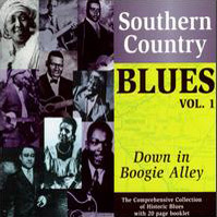 Various Artists Southern Country Blues Vol  Down In Boogie Alley Jazztimes