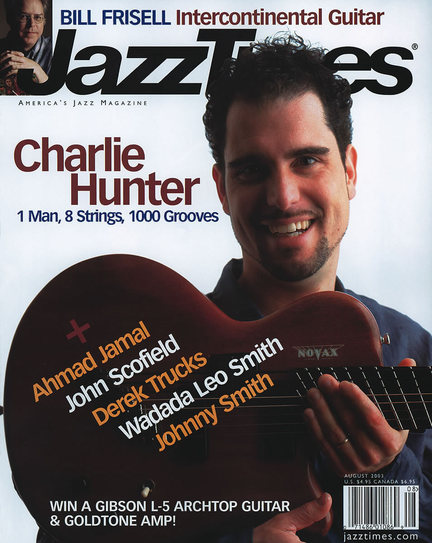 JazzTimes July/August 2003 cover