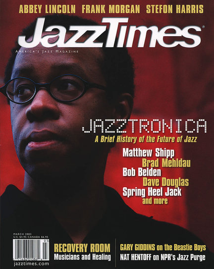 JazzTimes March 2003 cover