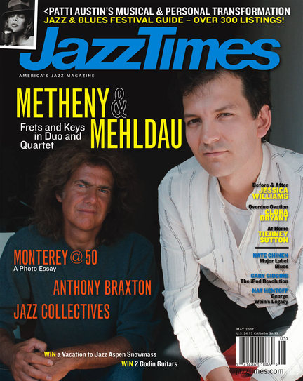 JazzTimes May 2007 cover