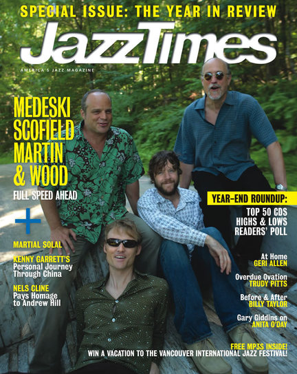 JazzTimes January/February 2007 cover