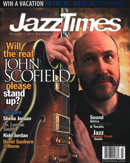 JazzTimes March 2001 cover
