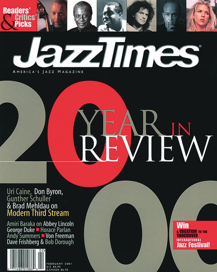 JazzTimes January/February 2001 cover