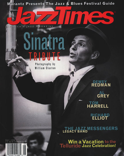 JazzTimes May 1998 cover