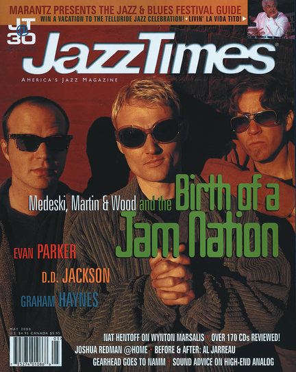 JazzTimes May 2000 cover