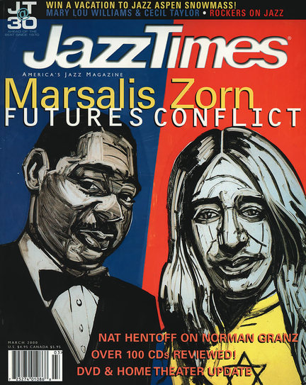 JazzTimes March 2000 cover