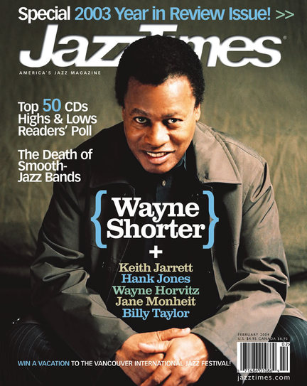 JazzTimes January/February 2004 cover