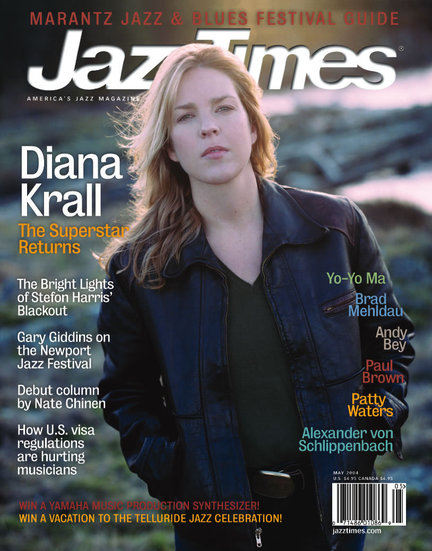 JazzTimes May 2004 cover