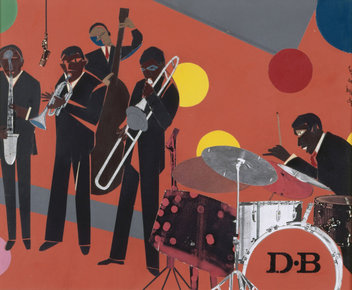 jazz articles romare bearden themes amp variations by