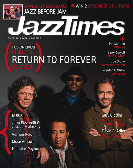 JazzTimes August 2008 cover