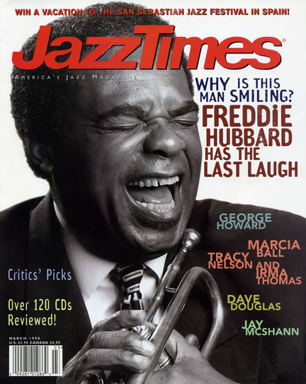 JazzTimes March 1998 cover