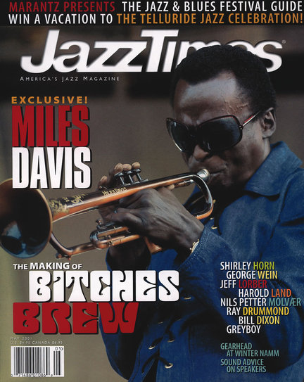 JazzTimes May 2001 cover