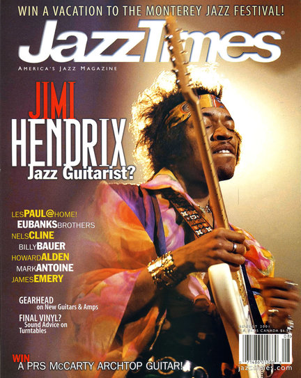 JazzTimes July/August 2001 cover
