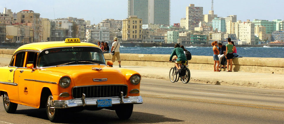 Insight Cuba - Cab and Skyline