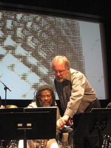 Wadada_leo_smith_and_jeff_von_der_schmidt__ten_freedom_summers__october__2011__copyright_2011_lyn_horton_depth1