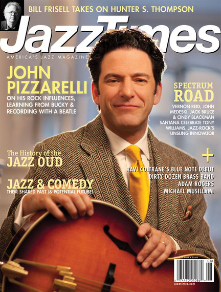 JazzTimes July/August 2012 cover