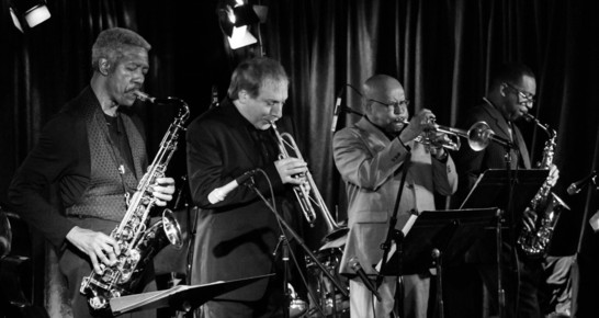 The_cookers__billy_harper__david_weiss__eddie_henderson__donald_harrison_b_w_1__iridium__nyc_4-14_depth1