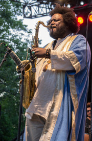 Kamasi Washington in Central Park