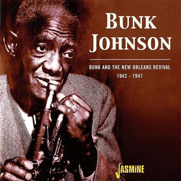 "10. Bunk Johnson's Original Superior Band: ""Panama"" (<i>Bunk and the New Orleans Revival</i>; Jasmine, 2003 [originally recorded June 11, 1942])"