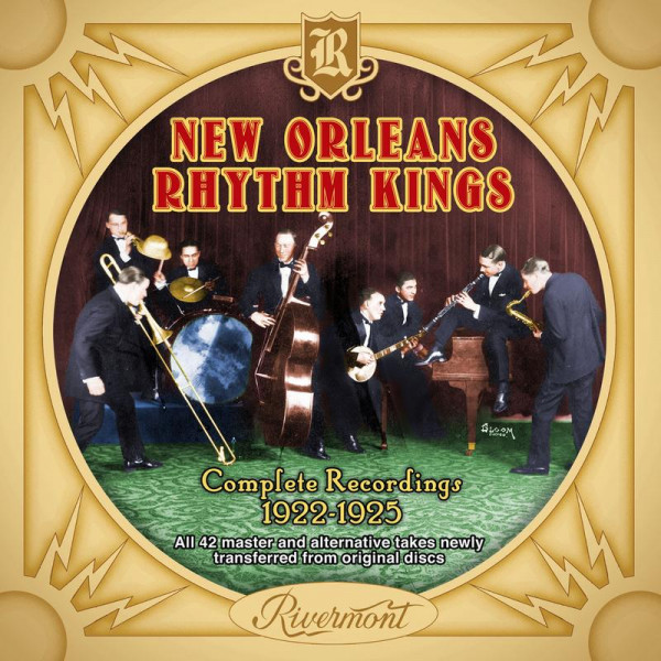 """7. New Orleans Rhythm Kings: """"She's Crying for Me"""" (<i>Complete Recordings 1922-1925</i>; Rivermont, 2018 [originally recorded March 26, 1925])"""