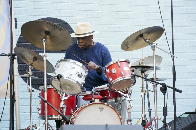 Andrew Cyrille at the Clemente, July 31, 2021