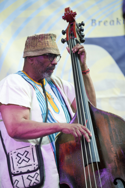 William Parker at the Clemente, July 31, 2021