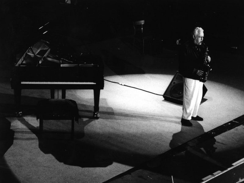 Lee Konitz at the Umbria Jazz Festival, Umbria, Italy 1998