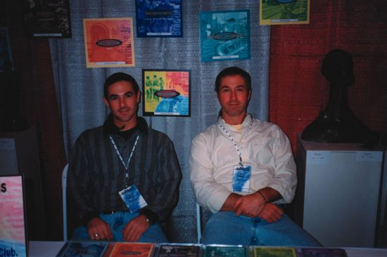 L to R:  Mike and Rick Warm of Malandro Records image 0