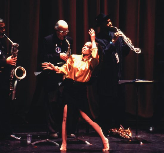 The World Saxophone Quartet with Mickey Davidson pay tribute to the late bassist Fred Hopkins at a memorial concert in Manhattan, 1999 image 0