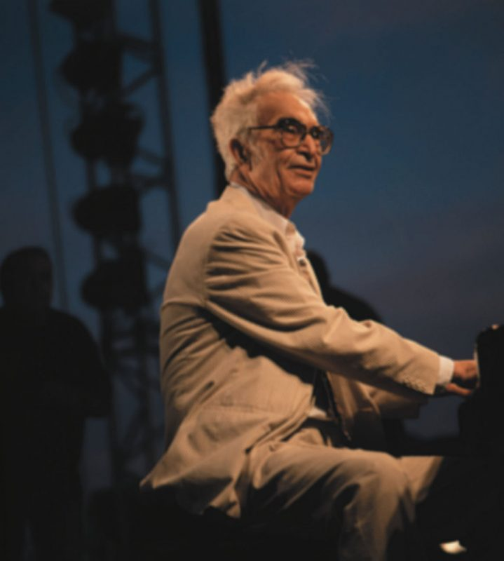 Dave Brubeck performing at Jazz a Juan