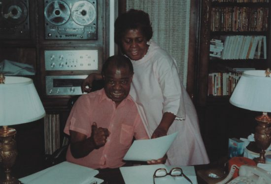 Louis Armstrong at home image 0