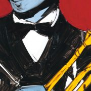 illustration of Louis Armstrong image 0