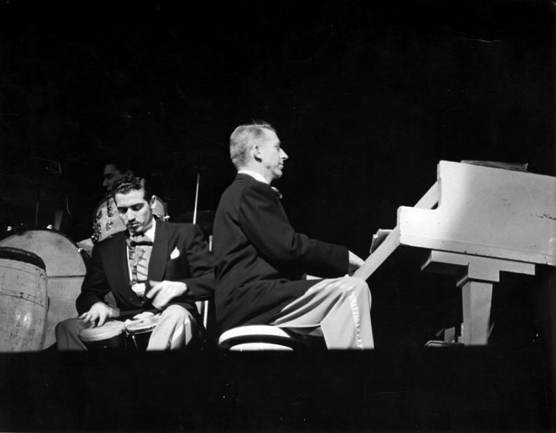 Jack Costanzo and Stan Kenton in 1947
