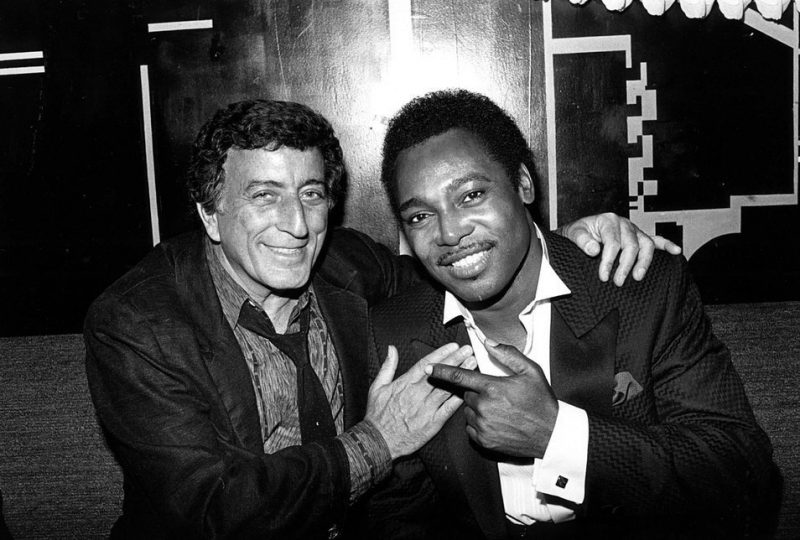 Tony Bennett and George Benson together at the Blue Note