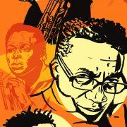 Illustration of Michael Brecker, John Coltrane, Herbie Hancock, Roy Hargrove, Miles Davis image 0