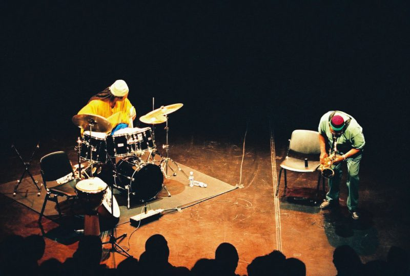 Hamid Drake and Fred Anderson, August 3, in Lisbon, Portugal