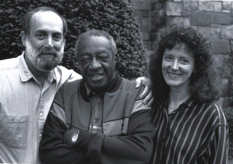 David G. Berger, Milt Hinton and Holly Maxson, Queens, N.Y., 1989