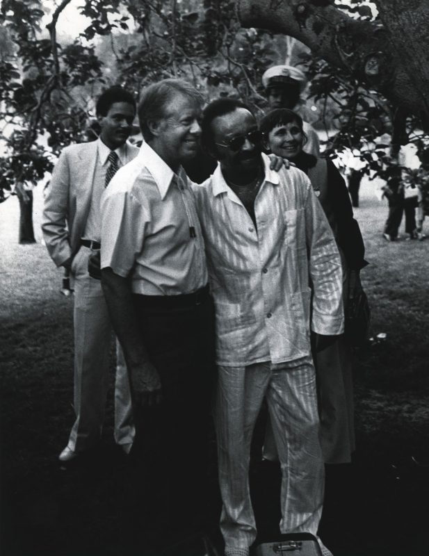 Jimmy Carter and Cecil Taylor