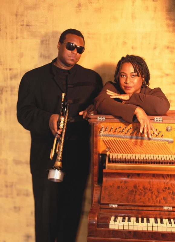 Wallace Roney and Geri Allen