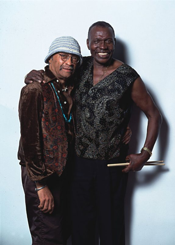 Elvin Jones with Cecil Taylor, June 2000