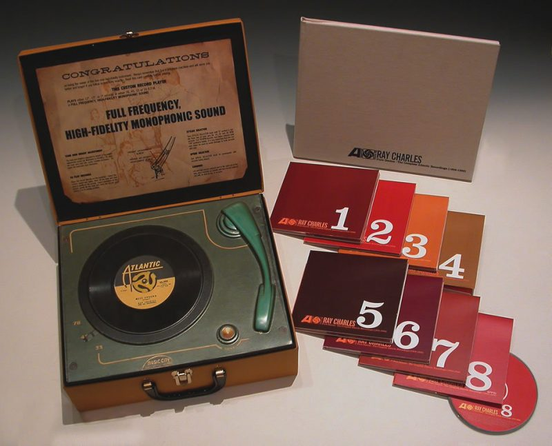 "Ray Charles ""The Complete Atlantic Recordings"" boxset"