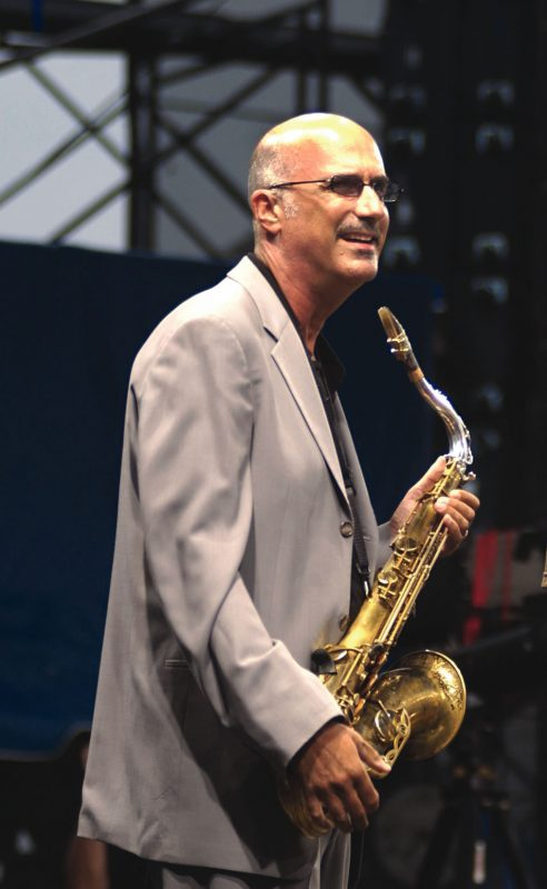 Micheal Brecker at the Newport Jazz Festival in 2004.