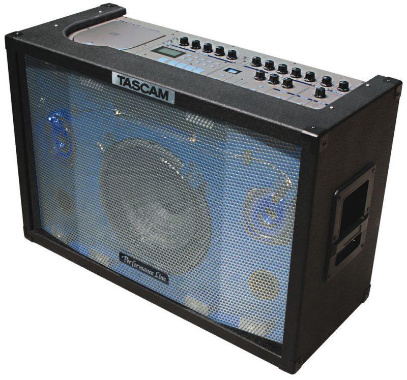 Tascam GA-100CD Guitar Amp/CD Trainer Combo