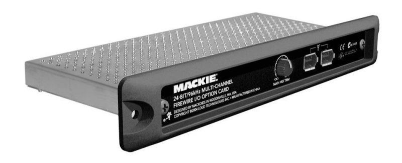 Mackie FireWire I/O Card
