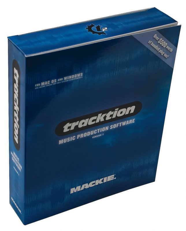 Tracktion 2 Software