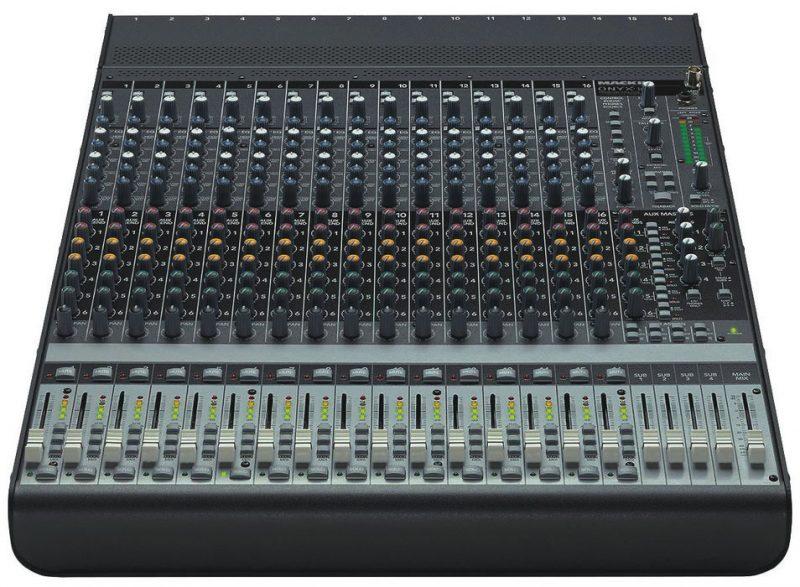Mackie Onyx 1640 Analog Mixer