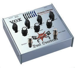 """Vox """"Duel"""" Overdrive Pedal"""