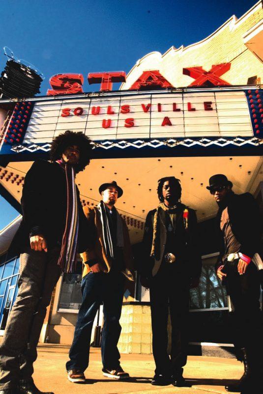 Soulive (L-R): Alan Evans, Eric Krasno, Toussaint and Neal Evans