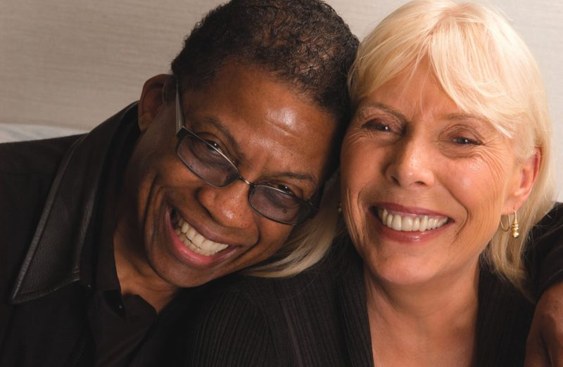 Herbie Hancock and Joni Mitchell