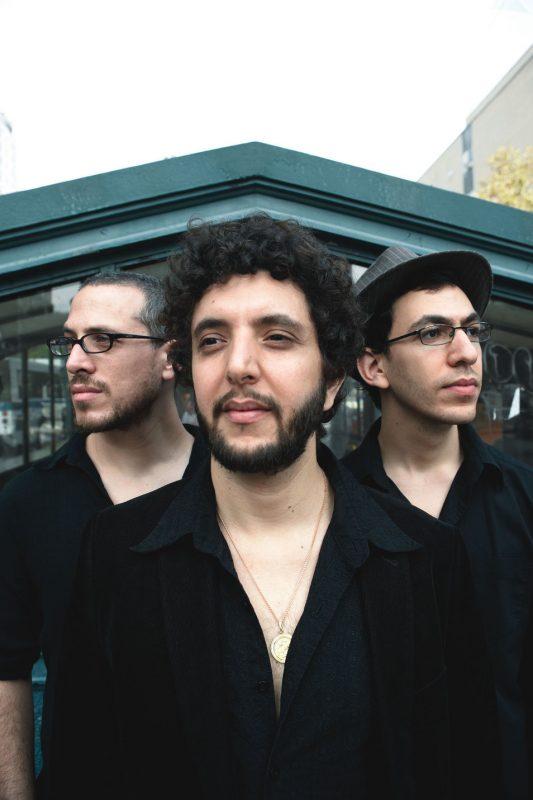 (L-R) Ziv Ravitz, Omer Avital and Omer Klein